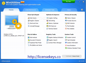 WinUtilities Professional 15.71 Crack With Keygen 2019 Free Download