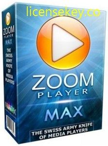Zoom Player Max 15 Build 8 Crack + Serial Key 2019 [Latest]
