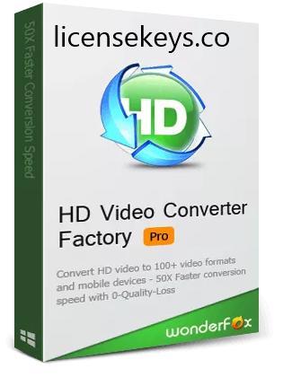 HD Video Converter Factory Pro Registration Key