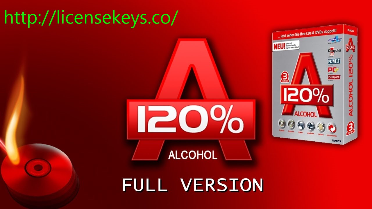 Alcohol 120% 2.0.3.11012 Crack + Keygen with Serial key 2019 Download