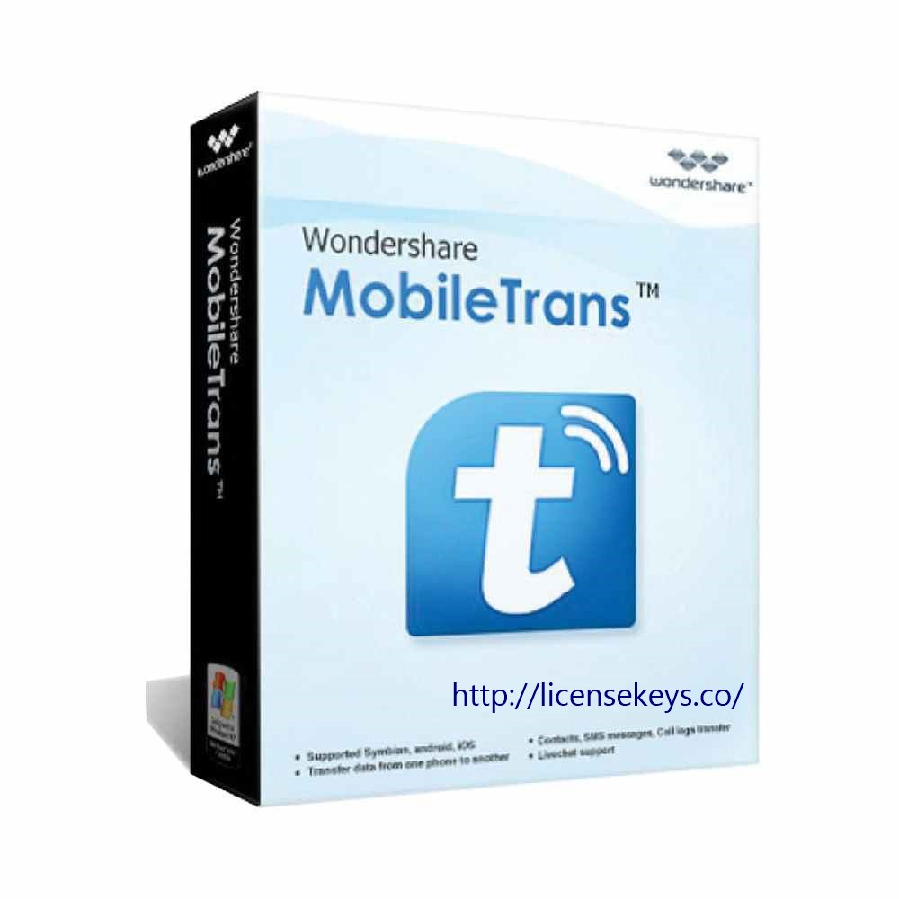 Wondershare MobileTrans 8.0.1 Crack + Registration Code 2019 {Latest}