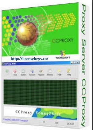 CCProxy 8.0 Build 20180914 Full Crack + License key & Keygen [2019]