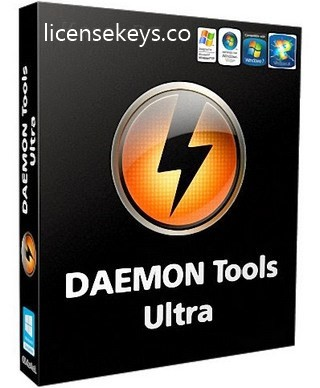 DAEMON Tools Ultra 5.8.0 Crack & Serial Key Free Download