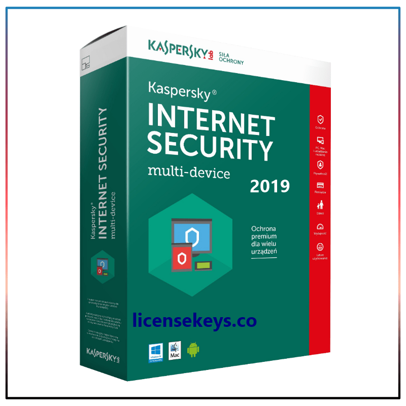 Kaspersky Internet Security 21.0.13.418 Crack + Activation Code [2019]