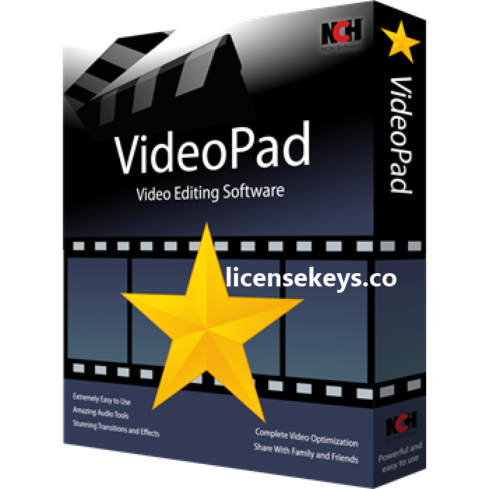 Videopad Video Editor 7.30 Crack + Registration Code 2019 [Latest]
