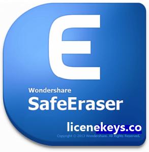 Wondershare SafeEraser 4.9.9 Crack + keygen Full Version 2019 [Latest]