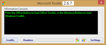 Microsoft Toolkit 2.6.7 Activator Windows & Office 2021