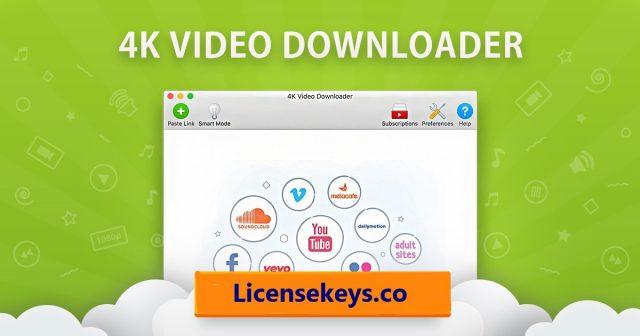4K Video Downloader 4.14.0 Crack + License Key [2021]
