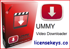 Ummy Video Downloader 1.10.3.2 Crack + License Key Full Version [2019]