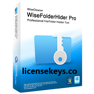 Wise Folder Hider Pro 4.26.186 Crack + License key Download [Latest]