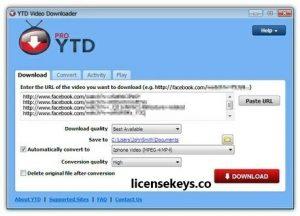 YTD Video Downloader 5.9.18.5 Full Crack + Key Free Download {2020}
