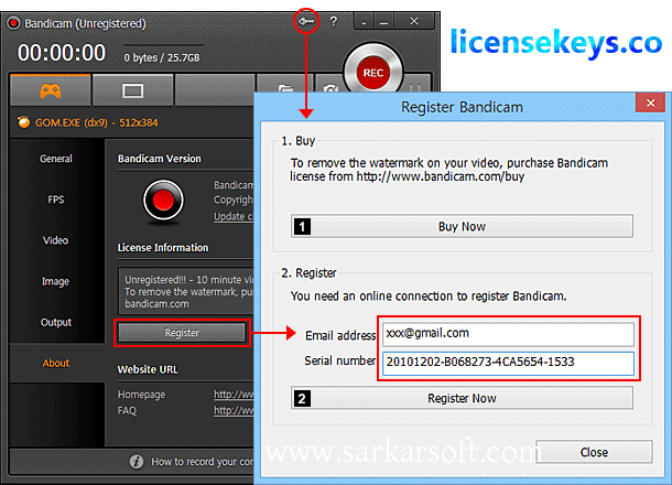BandiCam 5.0.0 Crack + Keygen Full Version Free Download