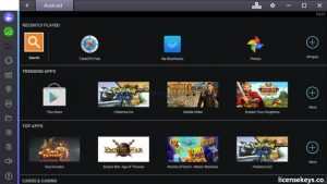 BlueStacks 4.130.0.3001 App Player Crack + Keygen Full Torrent [2019]