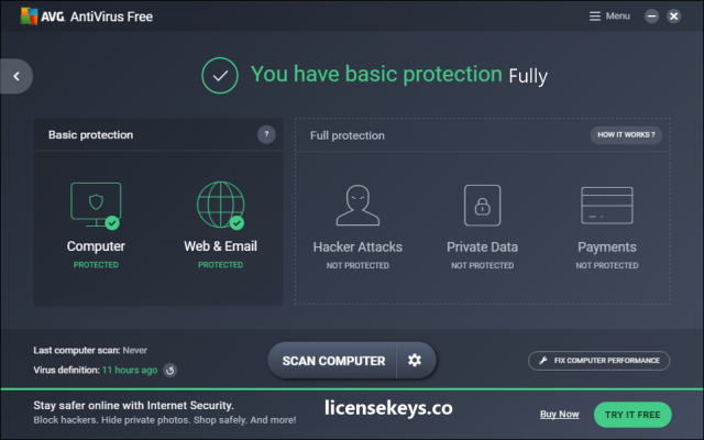 AVG Antivirus 2021 Crack + Serial Key Free Download (Latest)