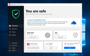 Bitdefender Total Security 2019 Crack + Activation Code Free {Lifetime}