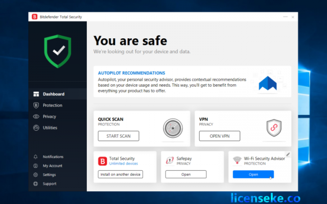 Bitdefender Total Security 2021 Crack + Activation Code (Latest)