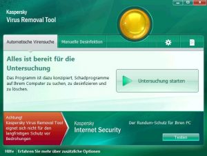 Kaspersky Virus Removal Tool 15.0.22.0 Crack With Key Free Download